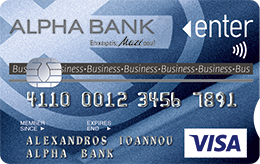 Alpha Bank Enter Visa Business
