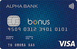 Alpha Bank Bonus Visa